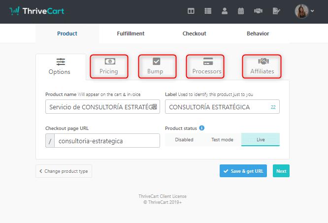 Thrivecart: aplicación para aumentar tus ventas online y gestión de cobros