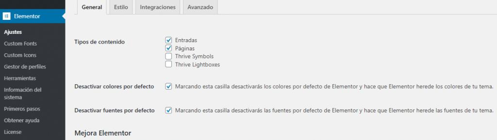 Elementor pro y maquetadores visuales para wordpress