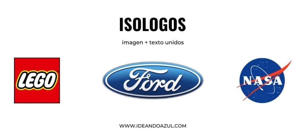 qué es un isologo frente al logo