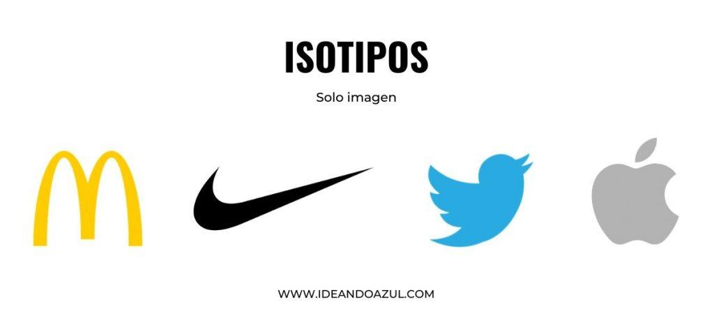 qué es un isotipo vs logotipo