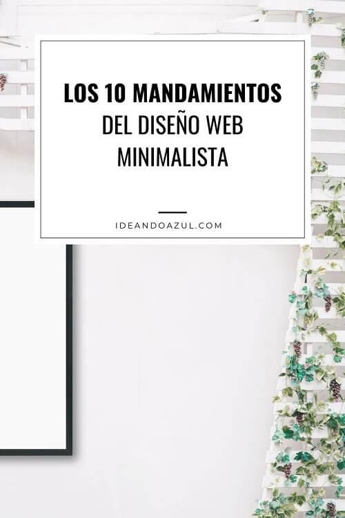 Pagina web minimalista