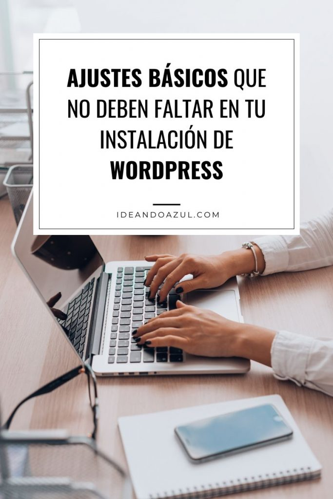 Ajustes wordpress