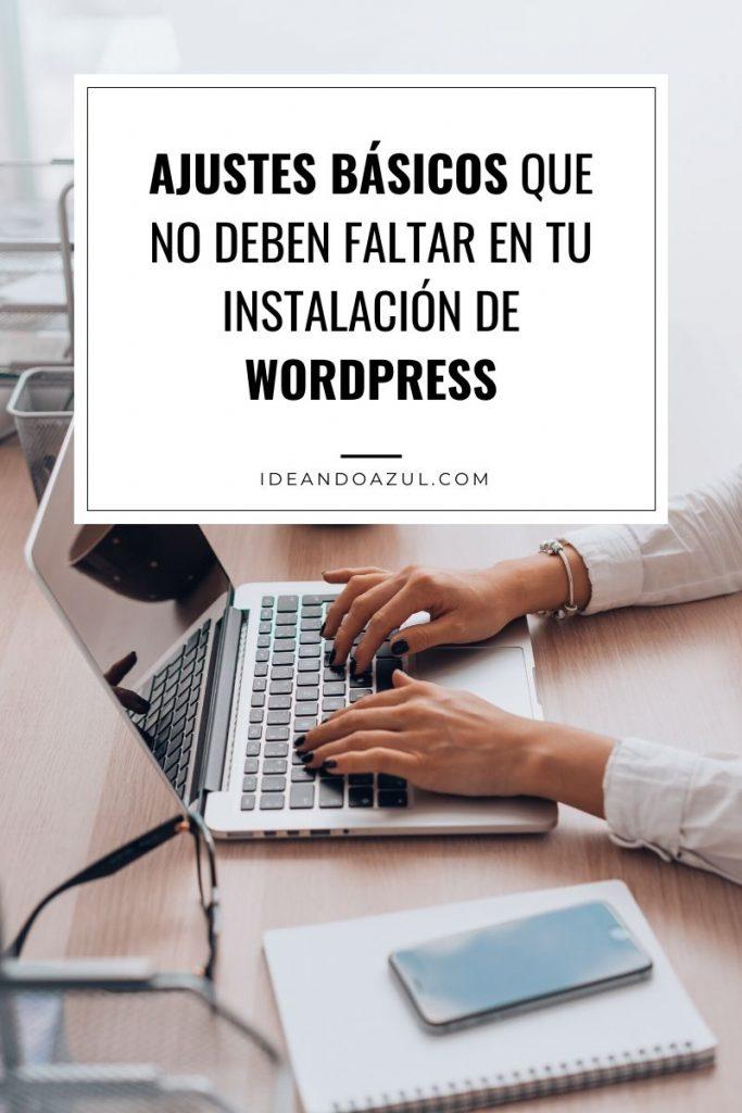 Ajustes wordpress