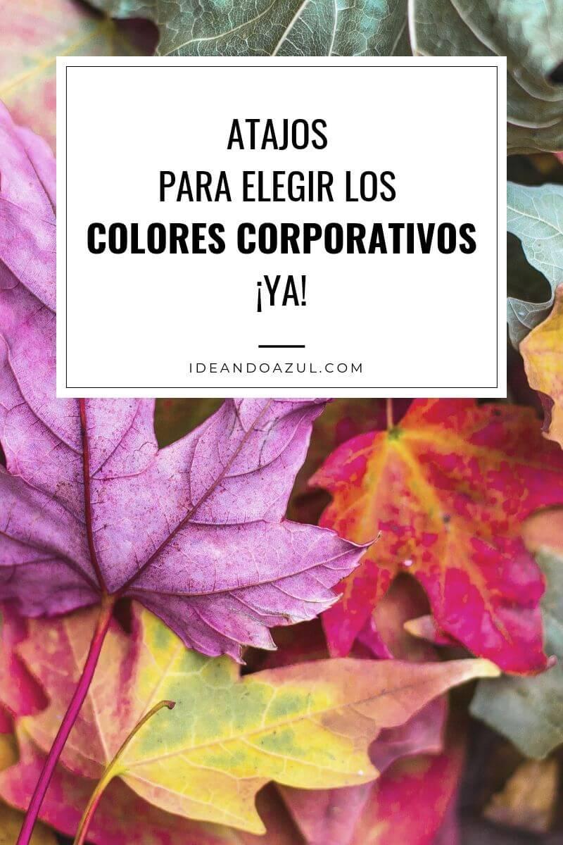 atajo para elegir los colores corporativos