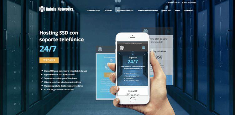 Ideandoazul diseno web wordpress raiola networks