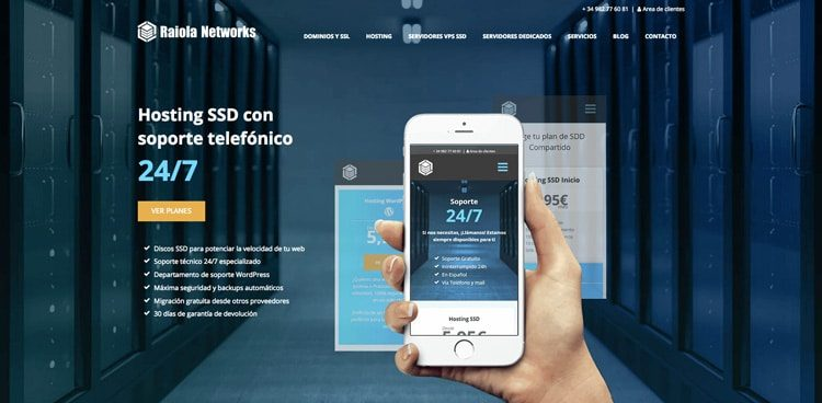 Ideandoazul diseno web wordpress raiola networks