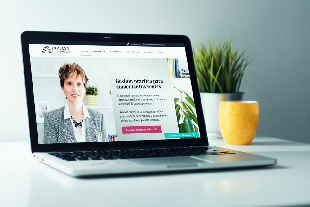 mockup diseño web