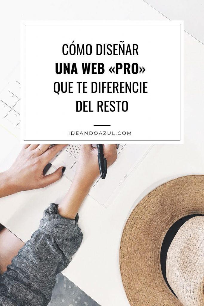 como disenar una web pro que te diferencie del resto